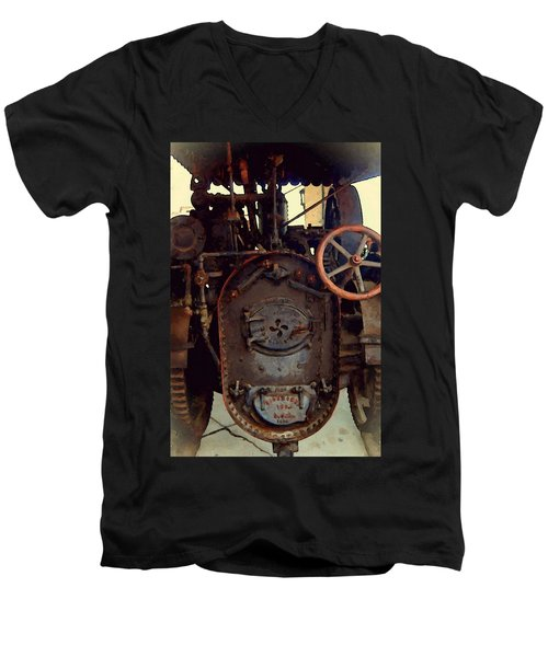 Steam Power Men's V-Neck T-Shirt