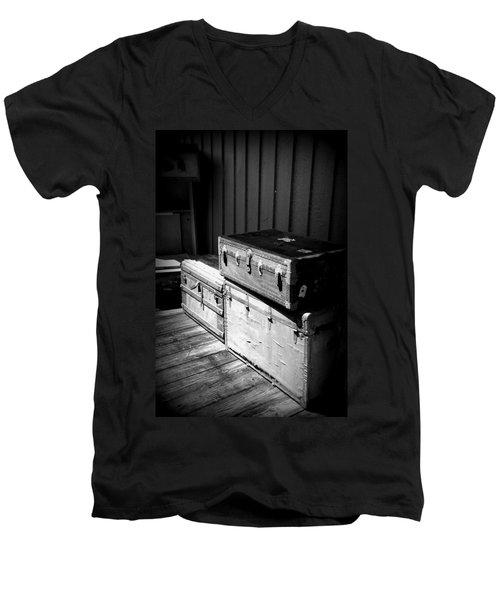 Steamer Trunks Men's V-Neck T-Shirt