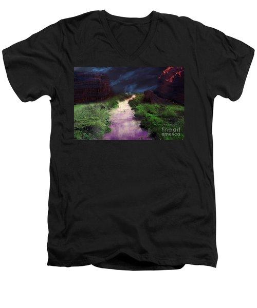 Steamy Creek Men's V-Neck T-Shirt
