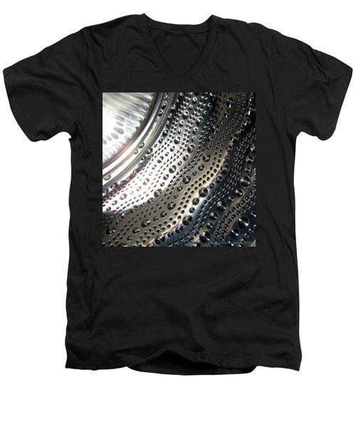 Steel Bubbles Men's V-Neck T-Shirt