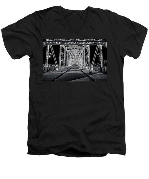 Step Under The Steel Men's V-Neck T-Shirt