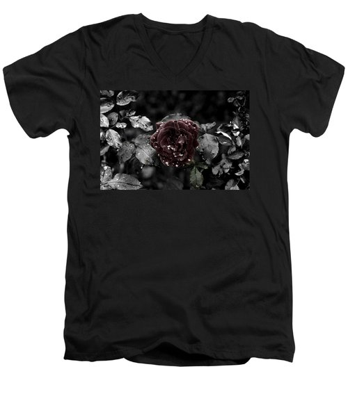 ...still A Rose Men's V-Neck T-Shirt