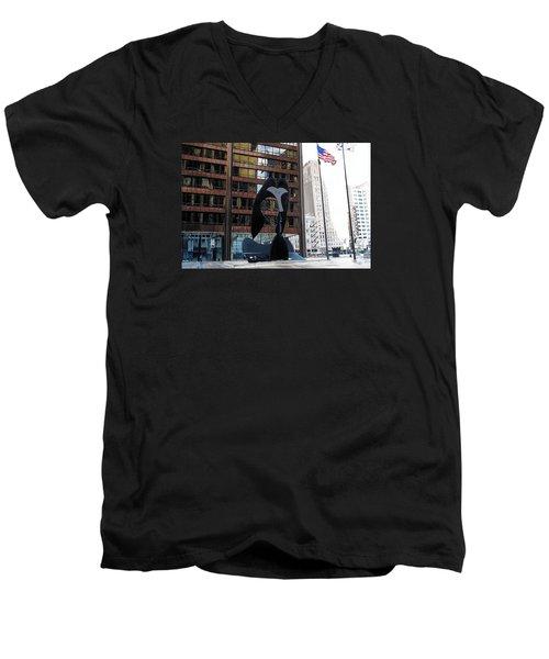 Still Life-162 Tons Men's V-Neck T-Shirt by Raymond Perez