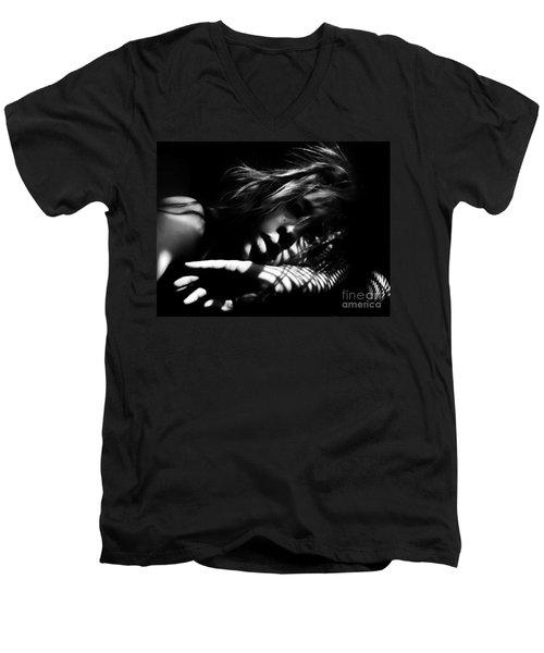 Stillness Speaks Men's V-Neck T-Shirt
