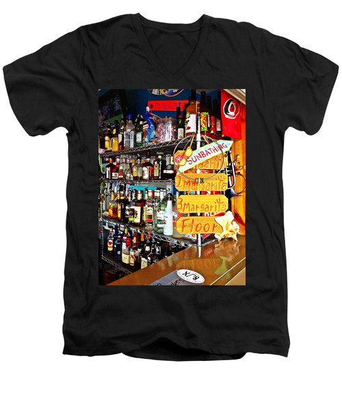 Stocked Bar At Jax Men's V-Neck T-Shirt