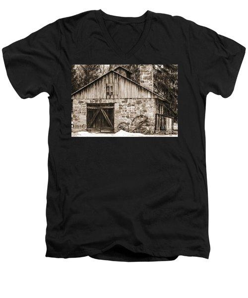 Stone Cabin 2 Men's V-Neck T-Shirt