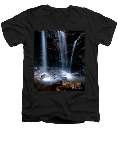 Streams Of Light Men's V-Neck T-Shirt