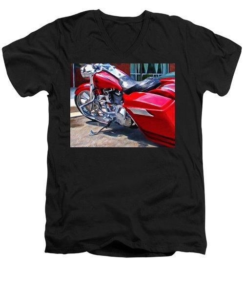 Street Glide Men's V-Neck T-Shirt