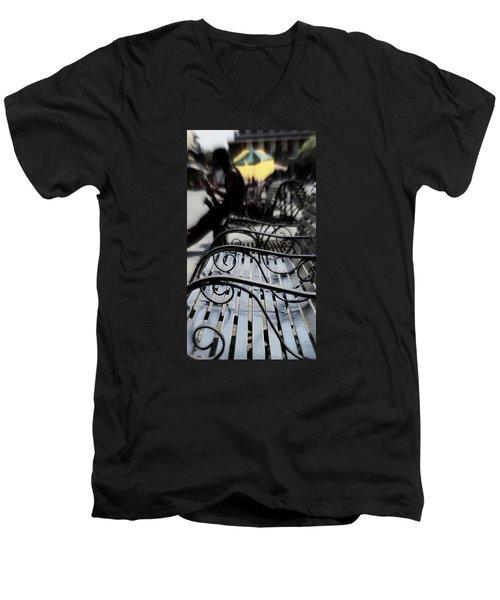 Street Jazz In The Big Easy Men's V-Neck T-Shirt