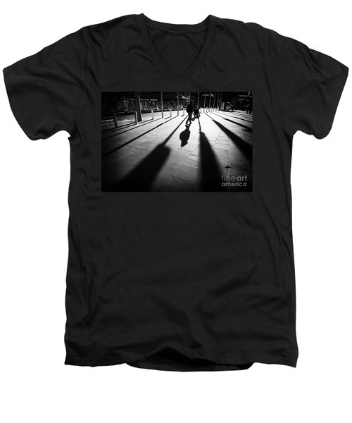 Street Shadow Men's V-Neck T-Shirt