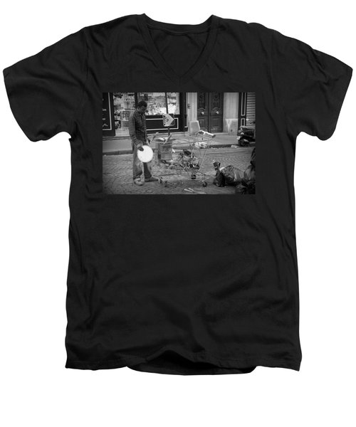 Street Vendor Men's V-Neck T-Shirt