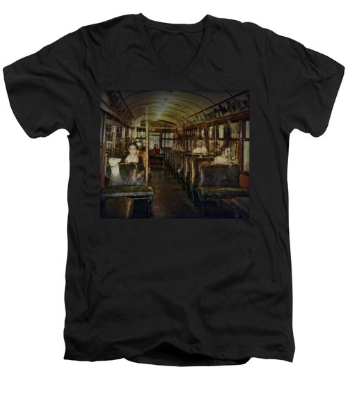 Streetcar Spirits Men's V-Neck T-Shirt