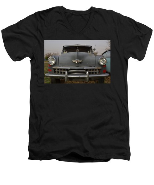Studebaker Champion Men's V-Neck T-Shirt