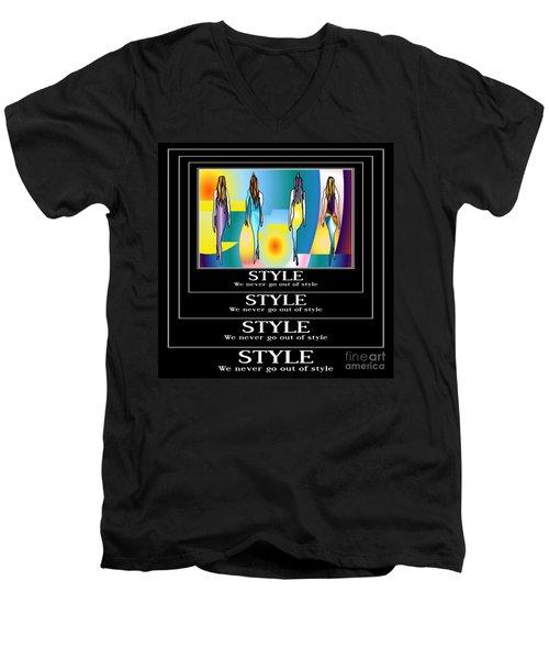 Style Men's V-Neck T-Shirt