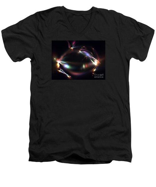 Submarine Men's V-Neck T-Shirt by Kim Sy Ok