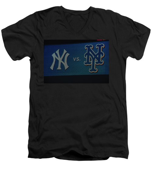 Subway Series Men's V-Neck T-Shirt