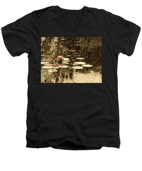 Summer Afternoon Men's V-Neck T-Shirt by Marcia Lee Jones