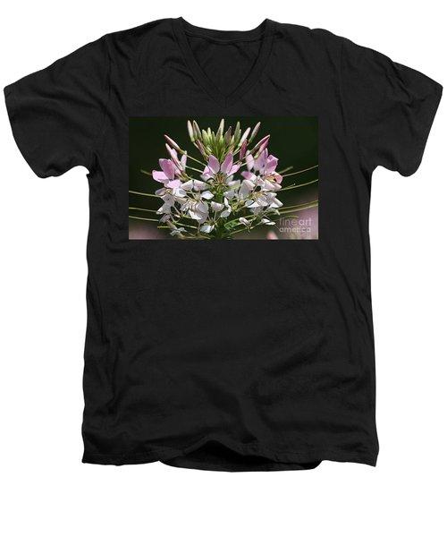 Summer Blossom Men's V-Neck T-Shirt by Yvonne Wright