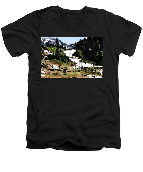 Summer Snow Men's V-Neck T-Shirt