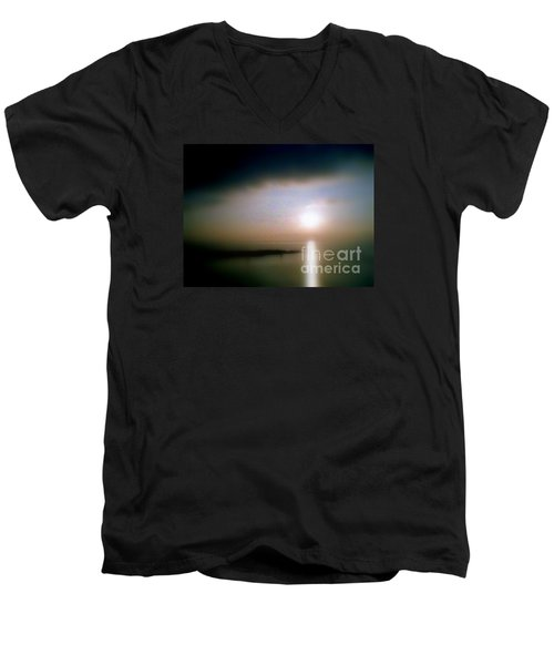 Men's V-Neck T-Shirt featuring the photograph Summer Sunrise by Michael Hoard