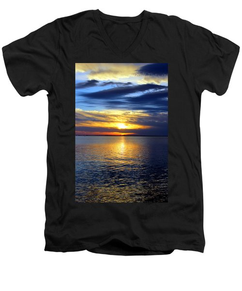 Sun Down South Men's V-Neck T-Shirt