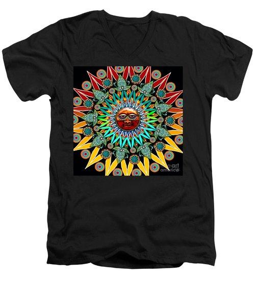 Sun Shaman Men's V-Neck T-Shirt