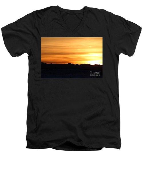 Sundre Sunset Men's V-Neck T-Shirt