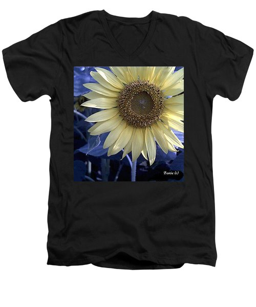 Sunflower Blues Men's V-Neck T-Shirt
