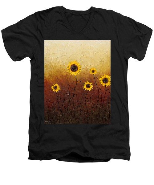 Sunflowers 1 Men's V-Neck T-Shirt