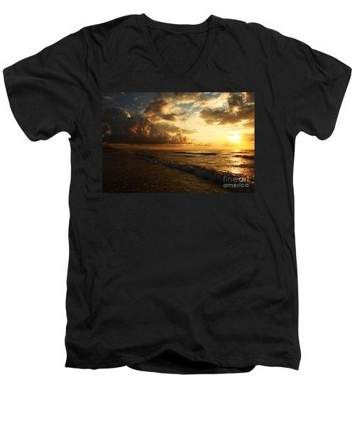 Sunrise - Rich Beauty Men's V-Neck T-Shirt