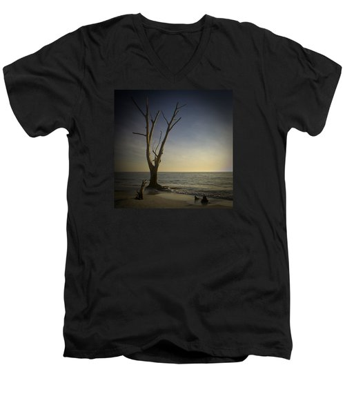 Sunset At Lovers Key Men's V-Neck T-Shirt