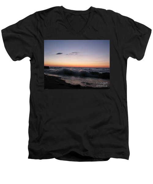 Sunset II Men's V-Neck T-Shirt