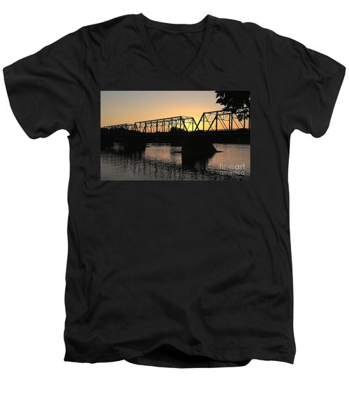 Sunset In June Men's V-Neck T-Shirt