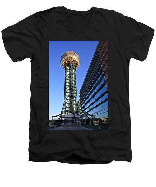 Sunsphere And Conference Center Men's V-Neck T-Shirt