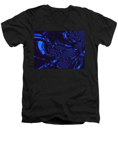 Supernatural Water Element Men's V-Neck T-Shirt by Absinthe Art By Michelle LeAnn Scott