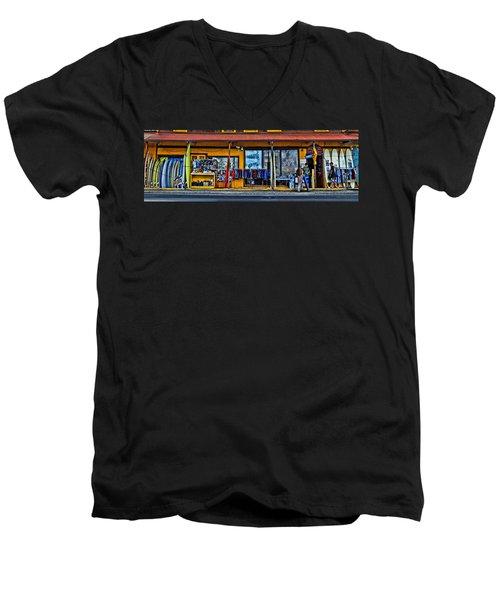 Surf N Sea Men's V-Neck T-Shirt by DJ Florek