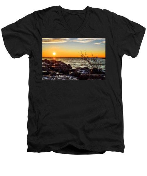 Surprise Sunrise Men's V-Neck T-Shirt
