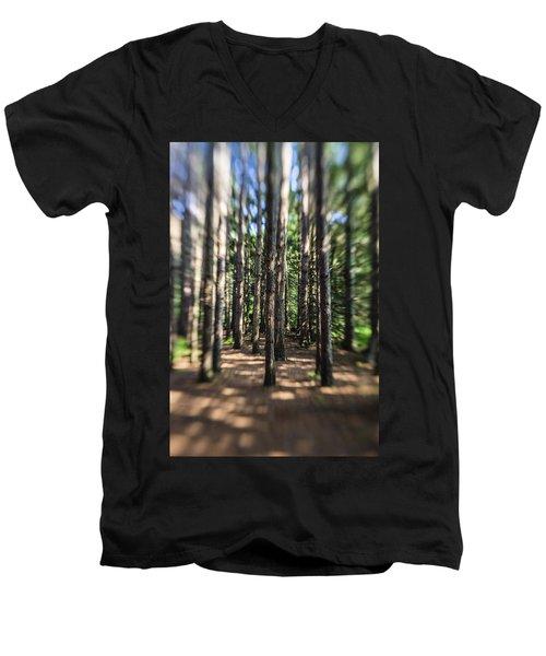 Surreal Forest Men's V-Neck T-Shirt