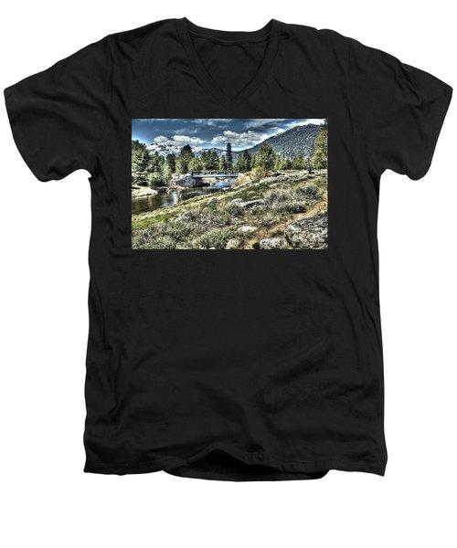 surreal Hope Valley Men's V-Neck T-Shirt