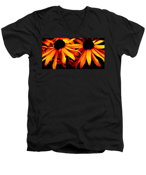 Susans On Fire Men's V-Neck T-Shirt