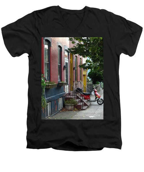 Swain Street Men's V-Neck T-Shirt