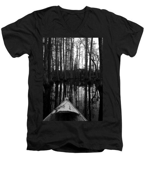 Swamp Boat Men's V-Neck T-Shirt