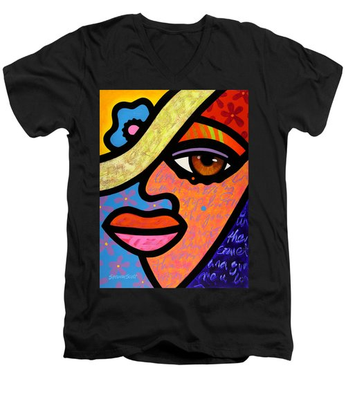 Sweet City Woman Men's V-Neck T-Shirt