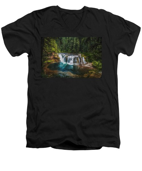 Swimming Hole Men's V-Neck T-Shirt