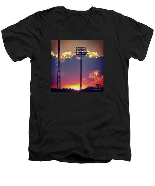 Switching Shifts Men's V-Neck T-Shirt