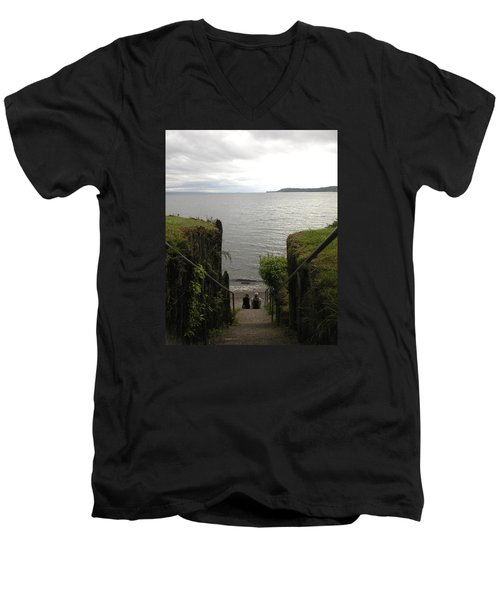Take In The View Men's V-Neck T-Shirt
