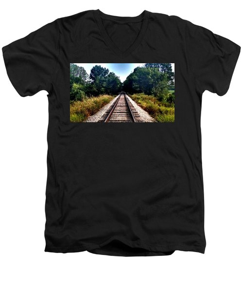 Men's V-Neck T-Shirt featuring the photograph Take Me Home by Chris Tarpening