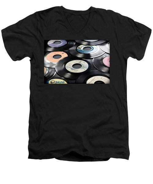 Take Those Old Records Off The Shelf Men's V-Neck T-Shirt