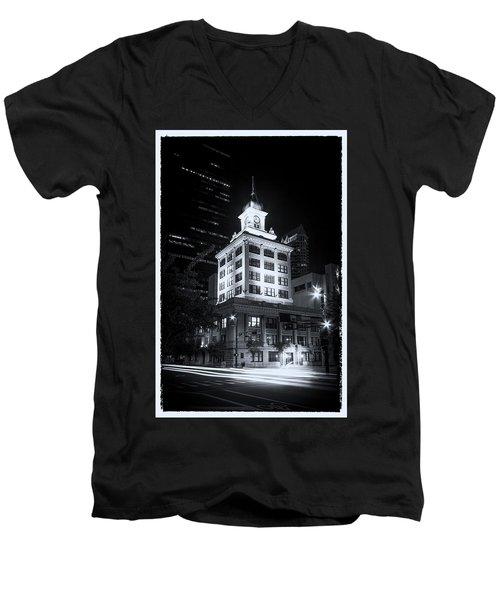 Tampa's Old City Hall Men's V-Neck T-Shirt