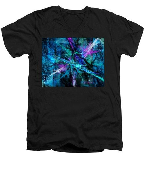 Tangled Web Men's V-Neck T-Shirt